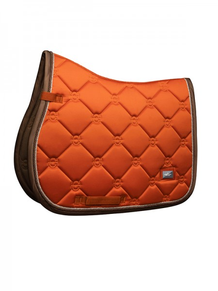 Equestrian Stockholm Brick Orange VS-Jump-Schabracke