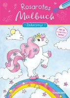 Rosarotes Malbuch Zauberponys