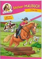 Sticker Malbuch Pferde