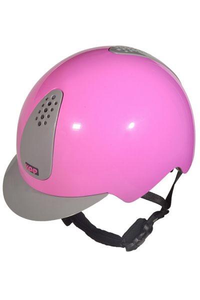 KEP KEPPY rosa grau Kinderreithelm