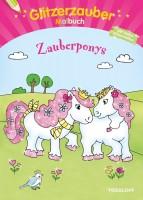 Glitzerzauber-Malbuch Zauberponys